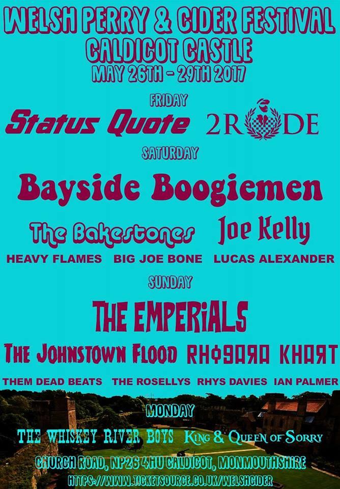 Welsh Cider Festival poster 2
